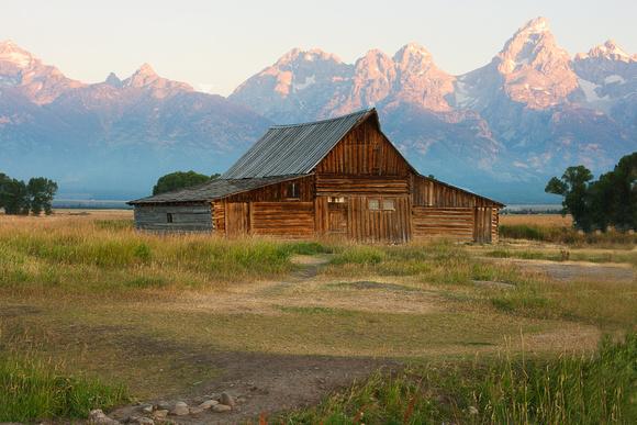 Mormon Row Barn-Grand Tetons