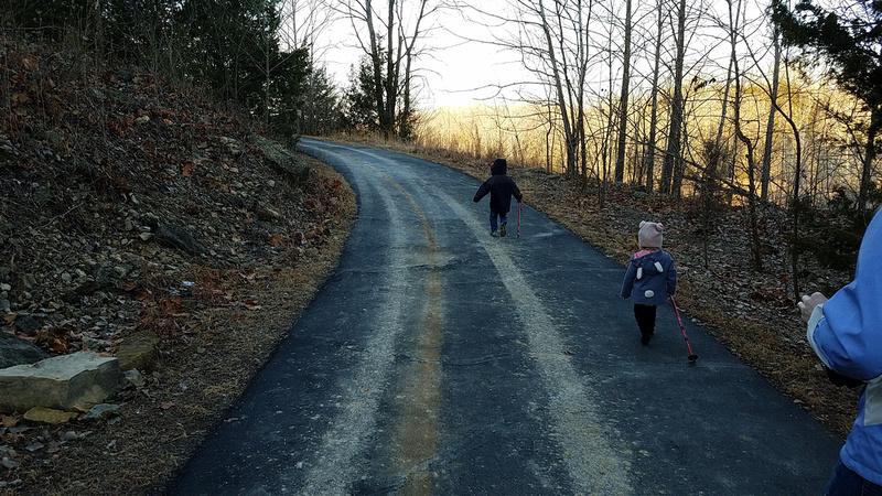 Sara L.: 1-20-18 Hike &emdash;