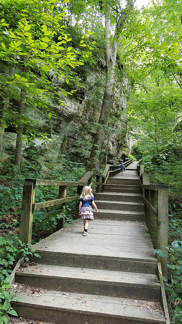 Sara L.: 7-22-18 Hike and Boo Garden &emdash;