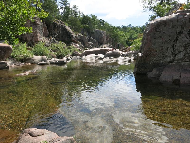 Sara L.: Castor River Shut-Ins 8-17-14 &emdash;