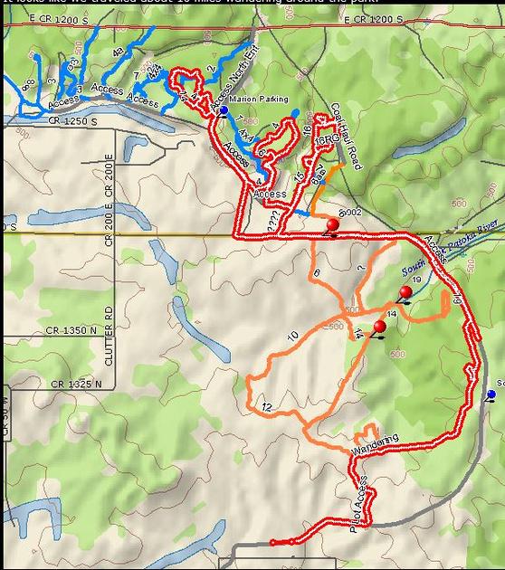 Sara L.: 16th Off-Road Trip Interlake 4-6-13 &emdash;